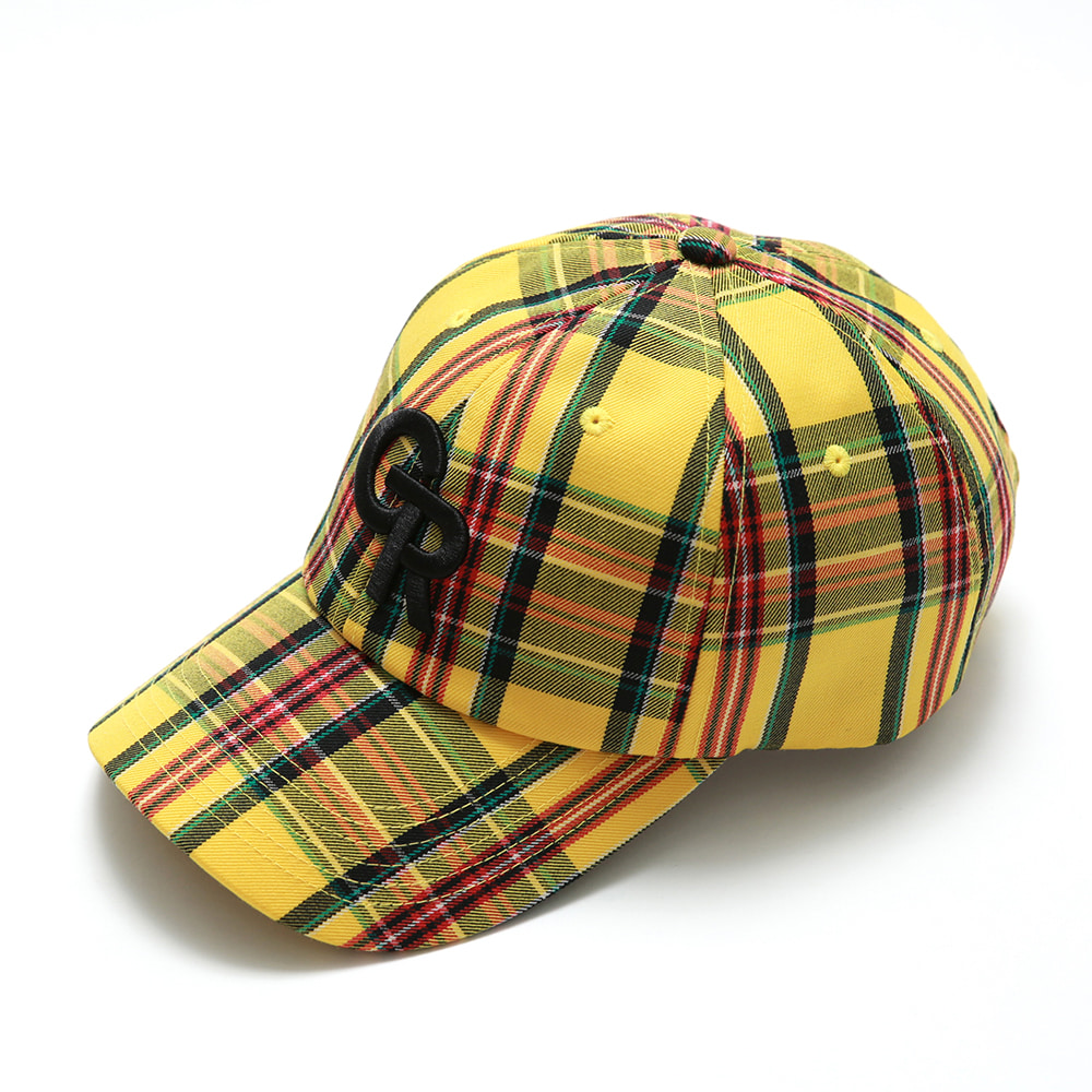 GREEDILOUS GR LOGO YELLOW CHECK_TBK04015